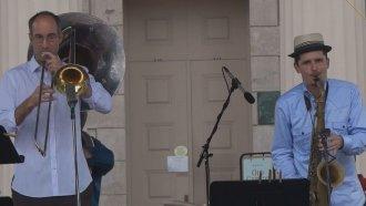 John Ellis & Double-Wide Interview - Iowa City Jazz Festival 2011